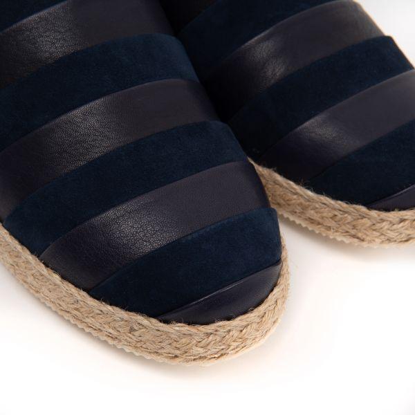 Эспадрилья Franceschetti темно-синие