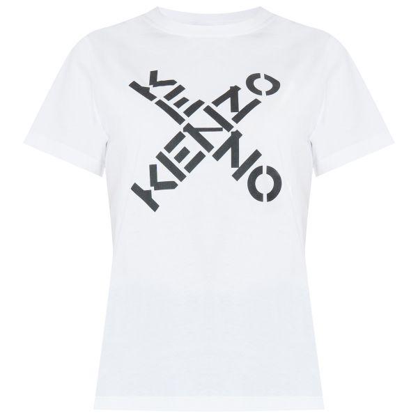 Футболка Kenzo Big X белая