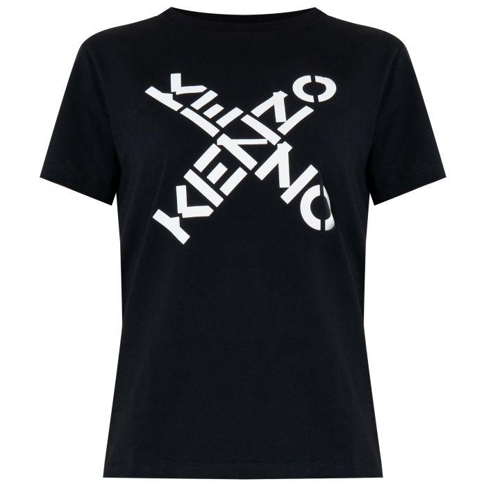 Футболка Kenzo Big X черная