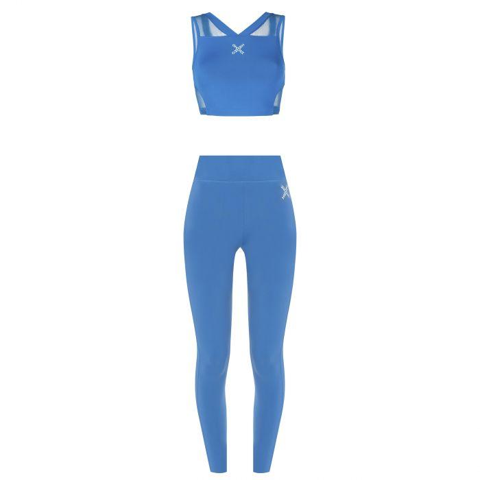 Спортивный костюм Kenzo голубой