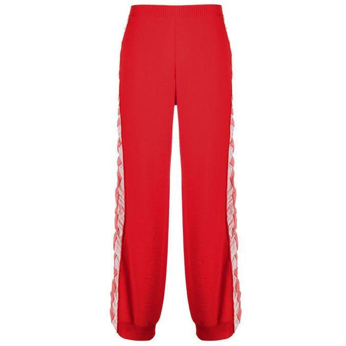 Спорт. брюки Stella McCartney красные