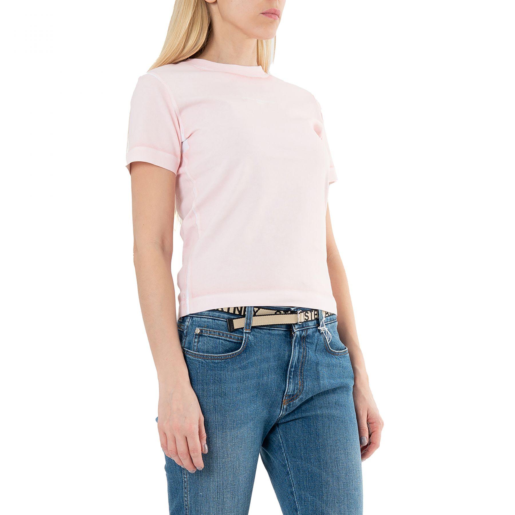 Футболка Stella McCartney светло-розовая