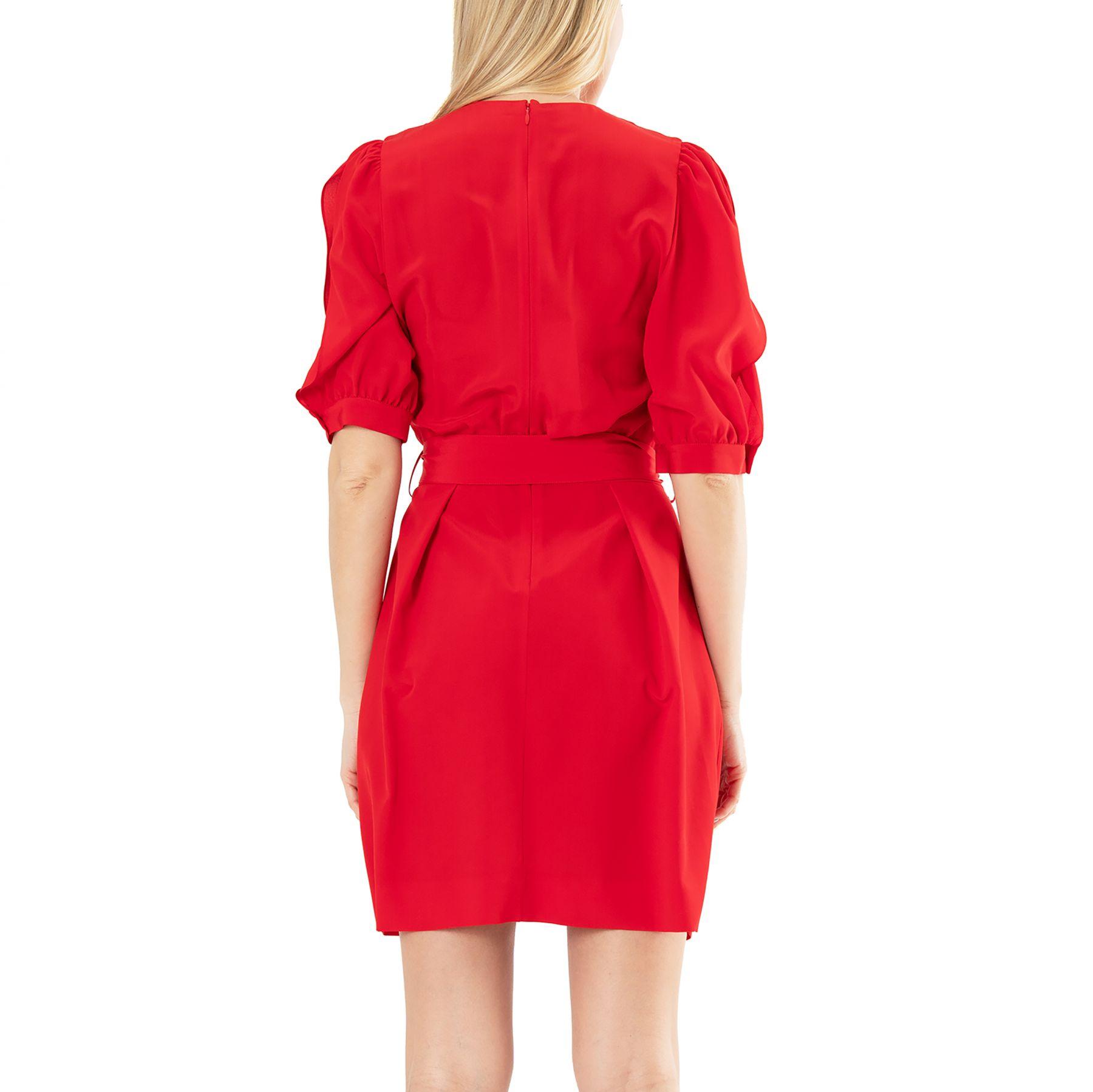 Платье Stella McCartney Jordan красное