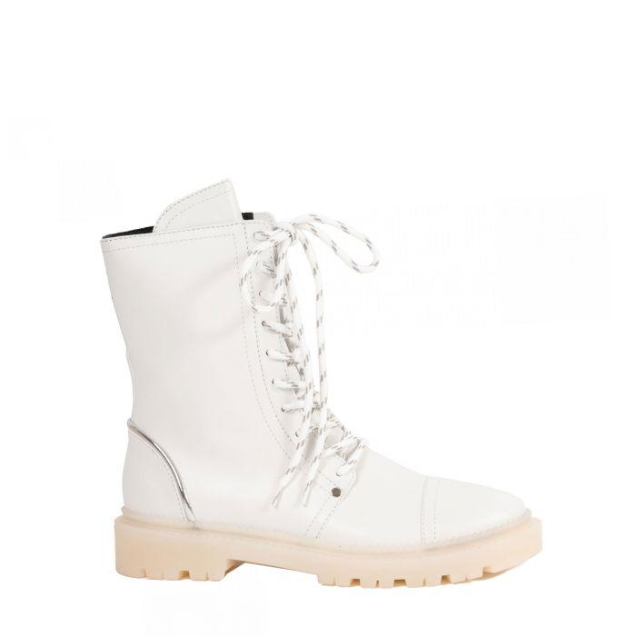 Ботинки Casadei белые
