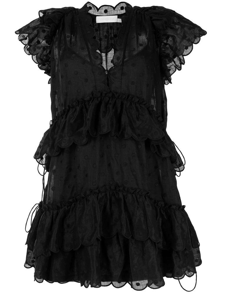 Платье Zimmermann черное
