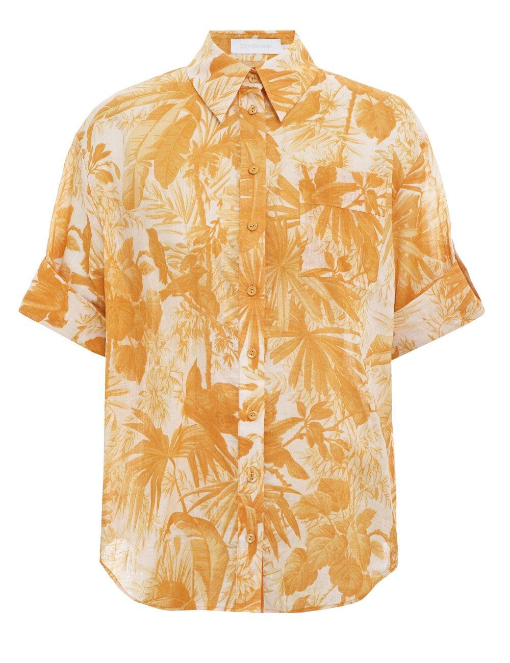 Рубашка с длинными рукавами Zimmermann