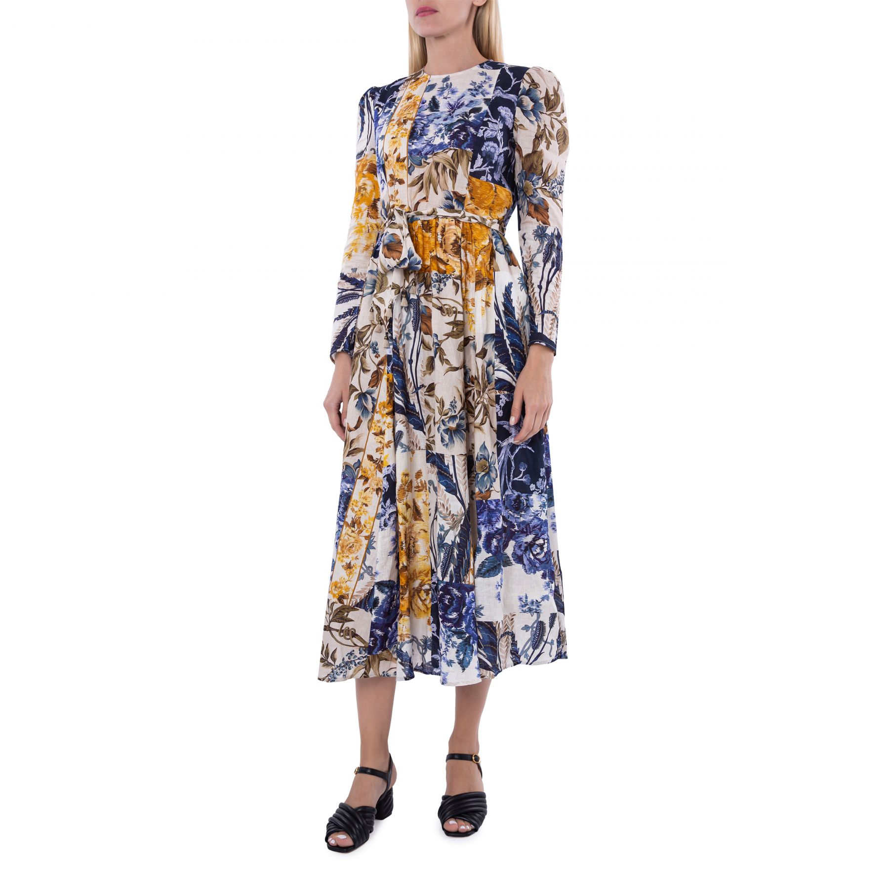 Платье Zimmermann Aliane разноцветное