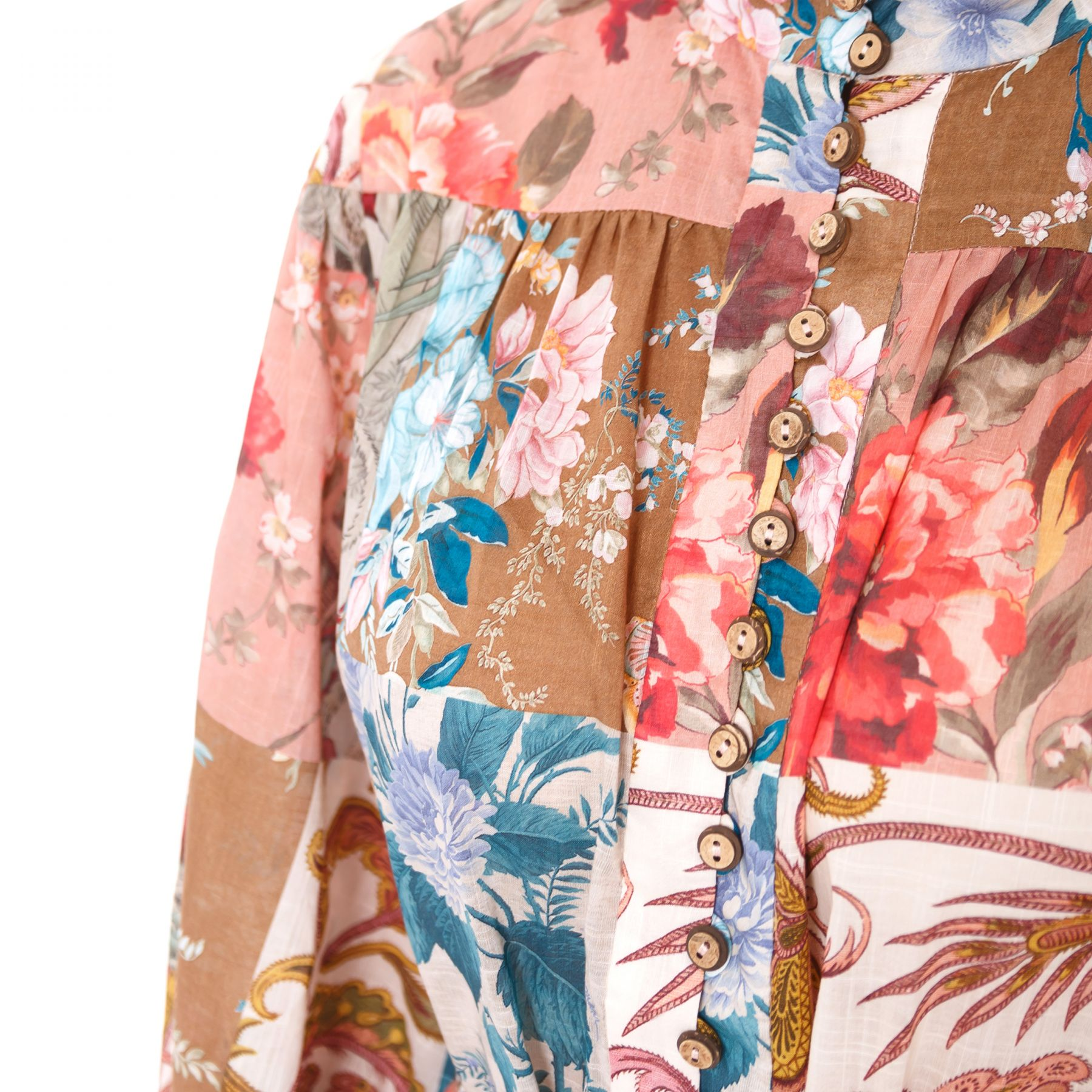Платье Zimmermann Casia разноцветное