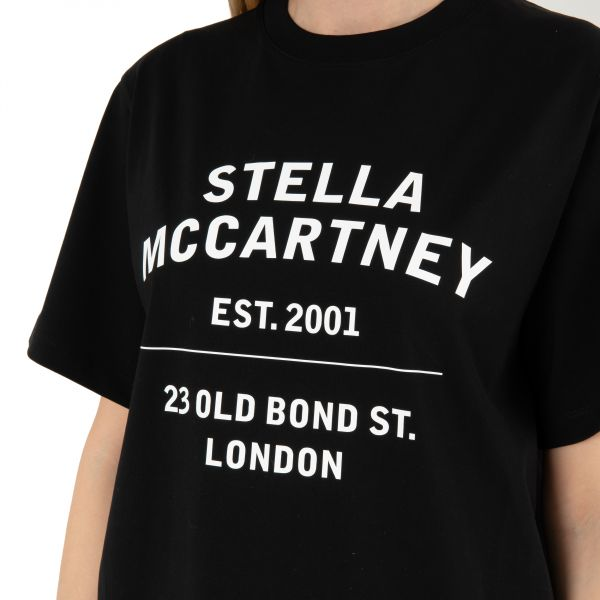 Футболка Stella McCartney черная