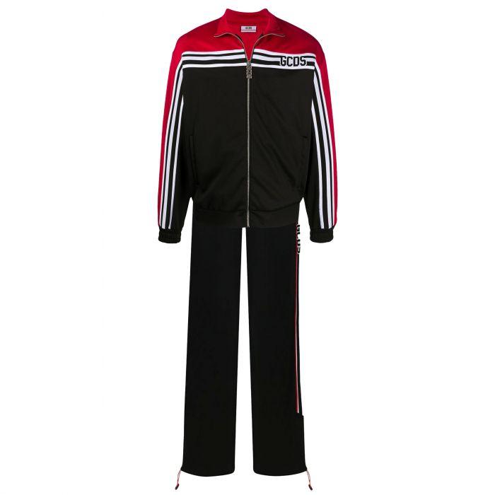 Спортивный костюм GCDS черно-красный