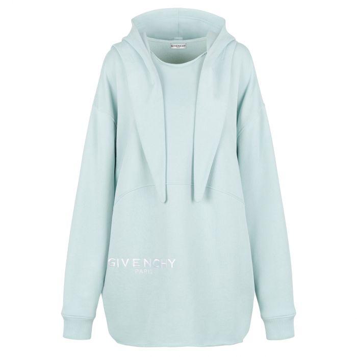 Худи Givenchy светло-голубое