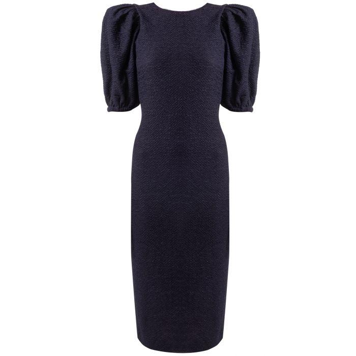 Платье Rotate темно-синее