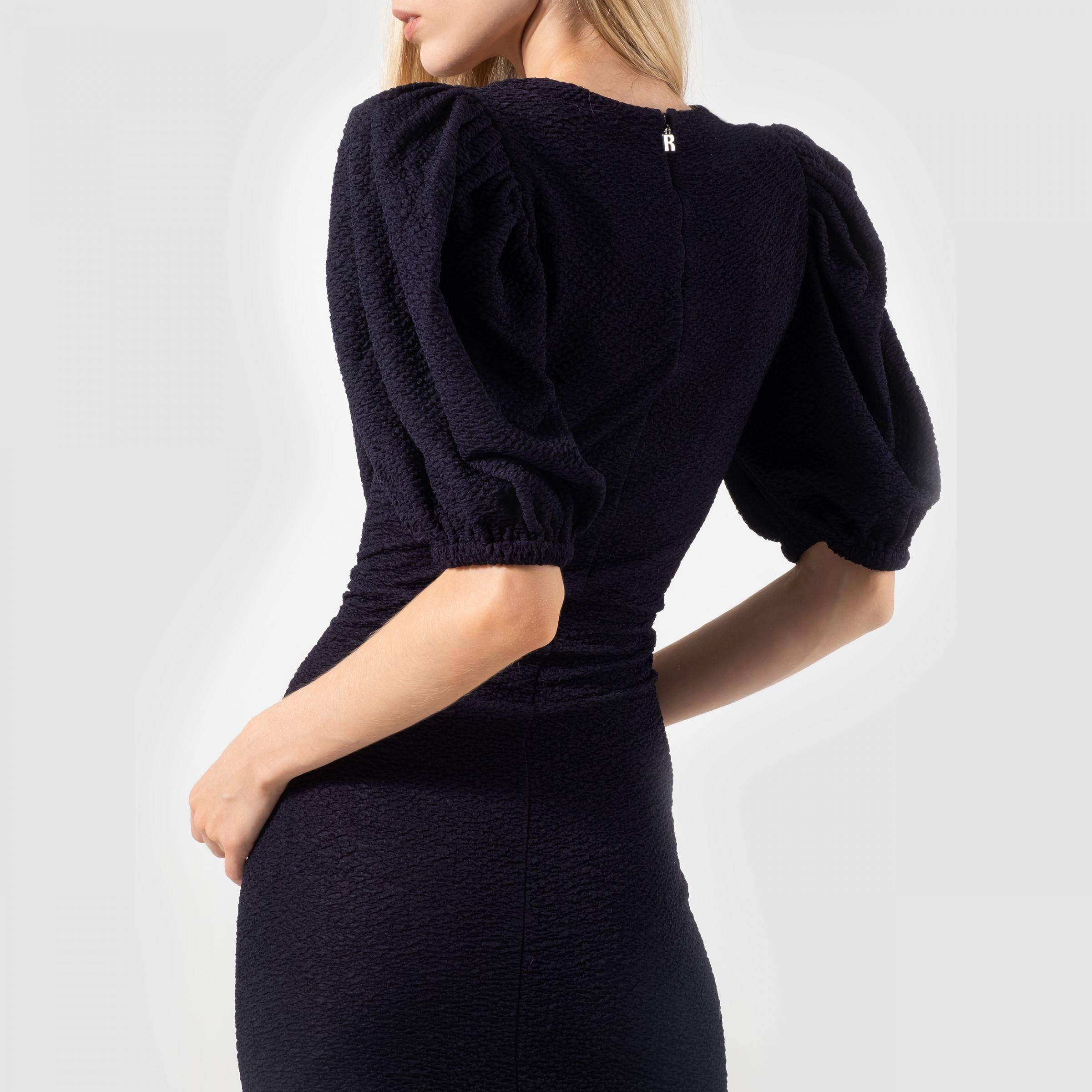 Платье Rotate Katalona темно-синее