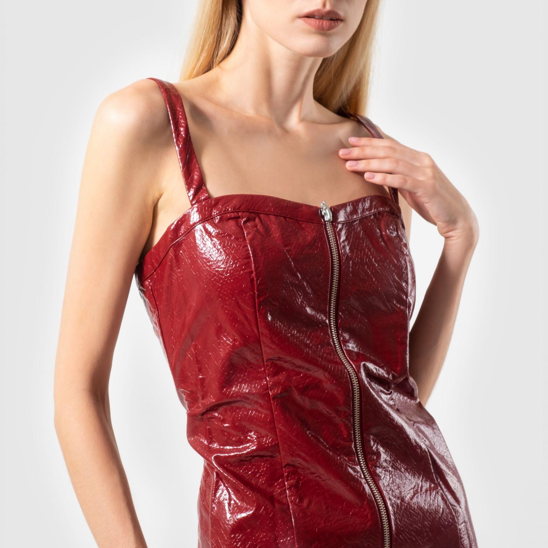 Платье Rotate бордо