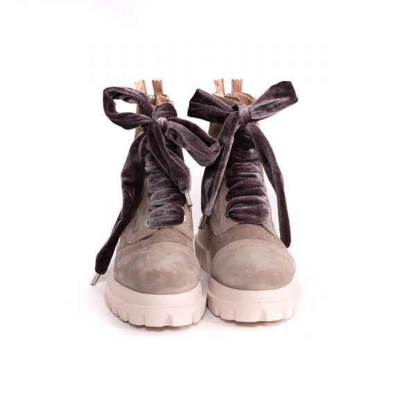 Ботинки флет AGL бежевые