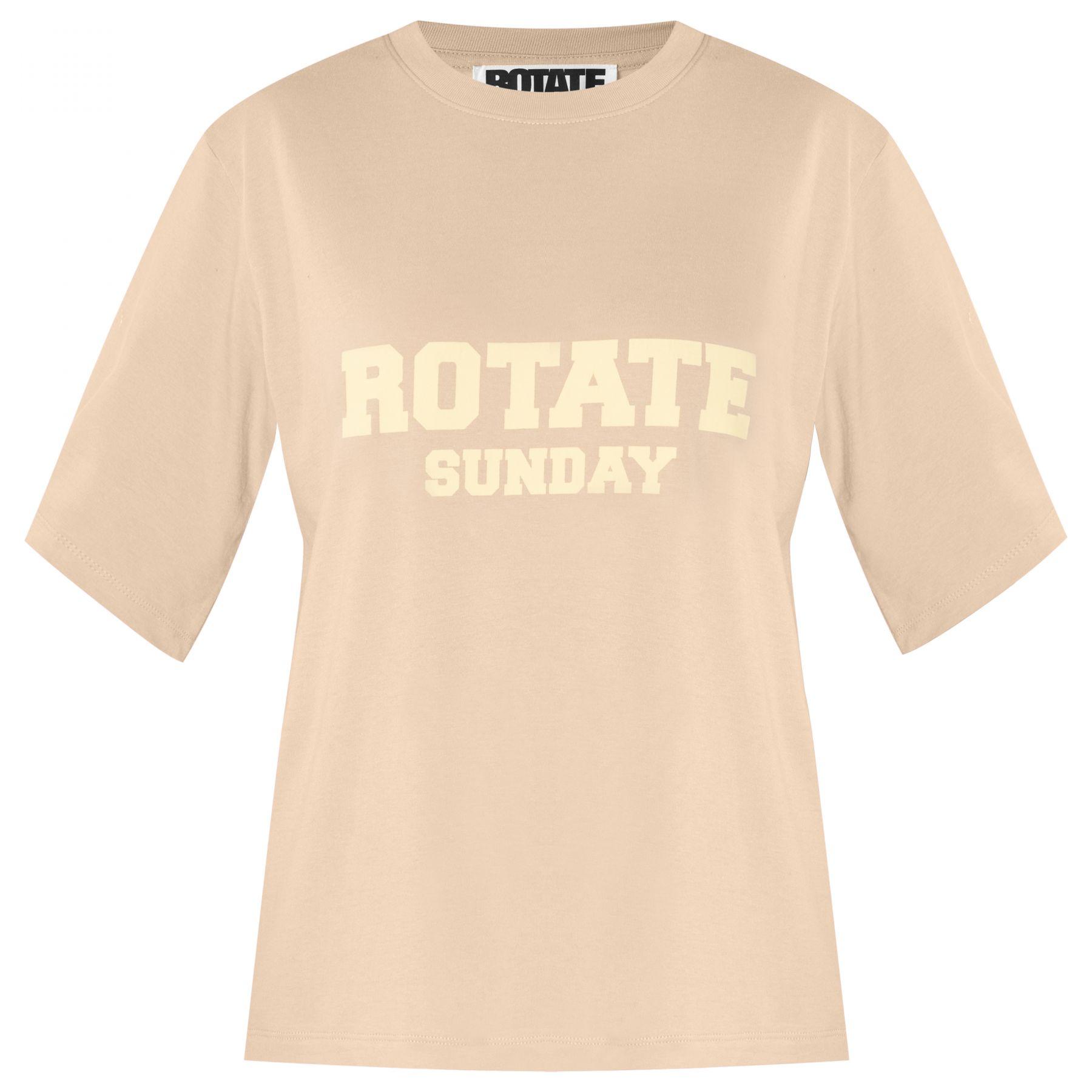 Футболка Rotate Aster бежевая
