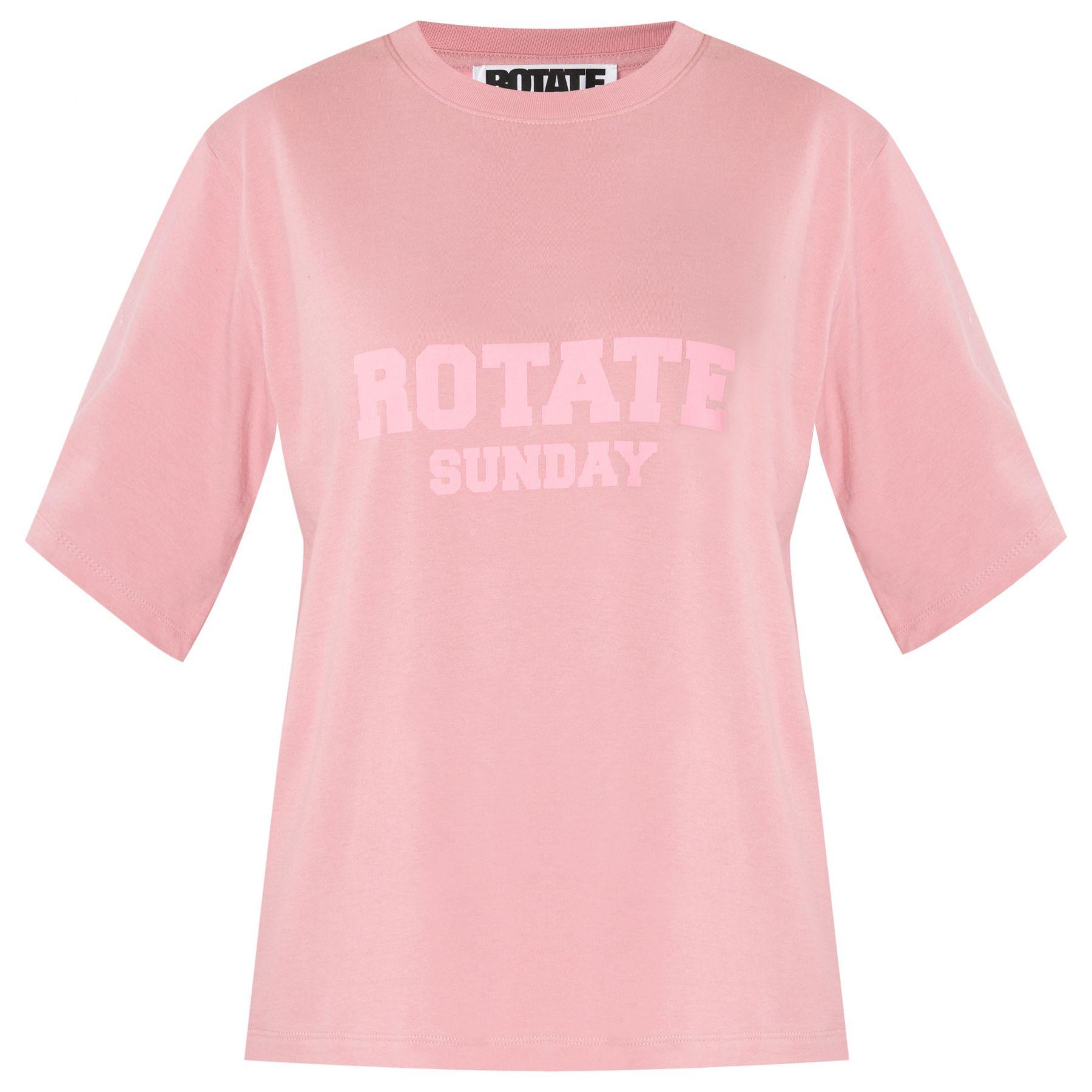Футболка Rotate Aster розовая
