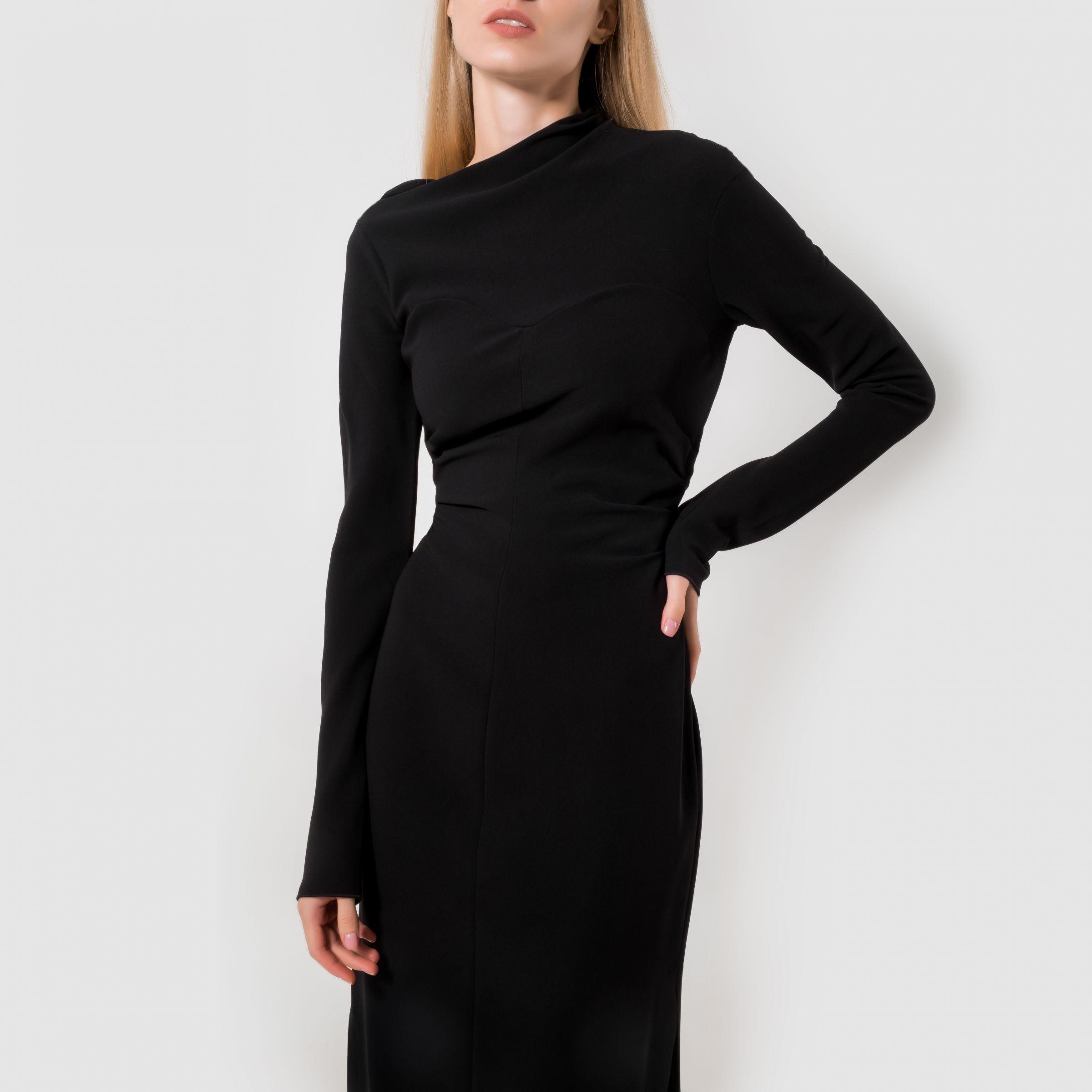 Платье Nanushka Tamal черное