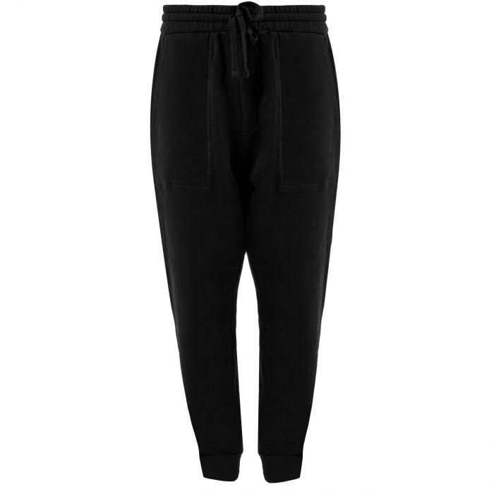 Спортивные брюки Nanushka Shay черные