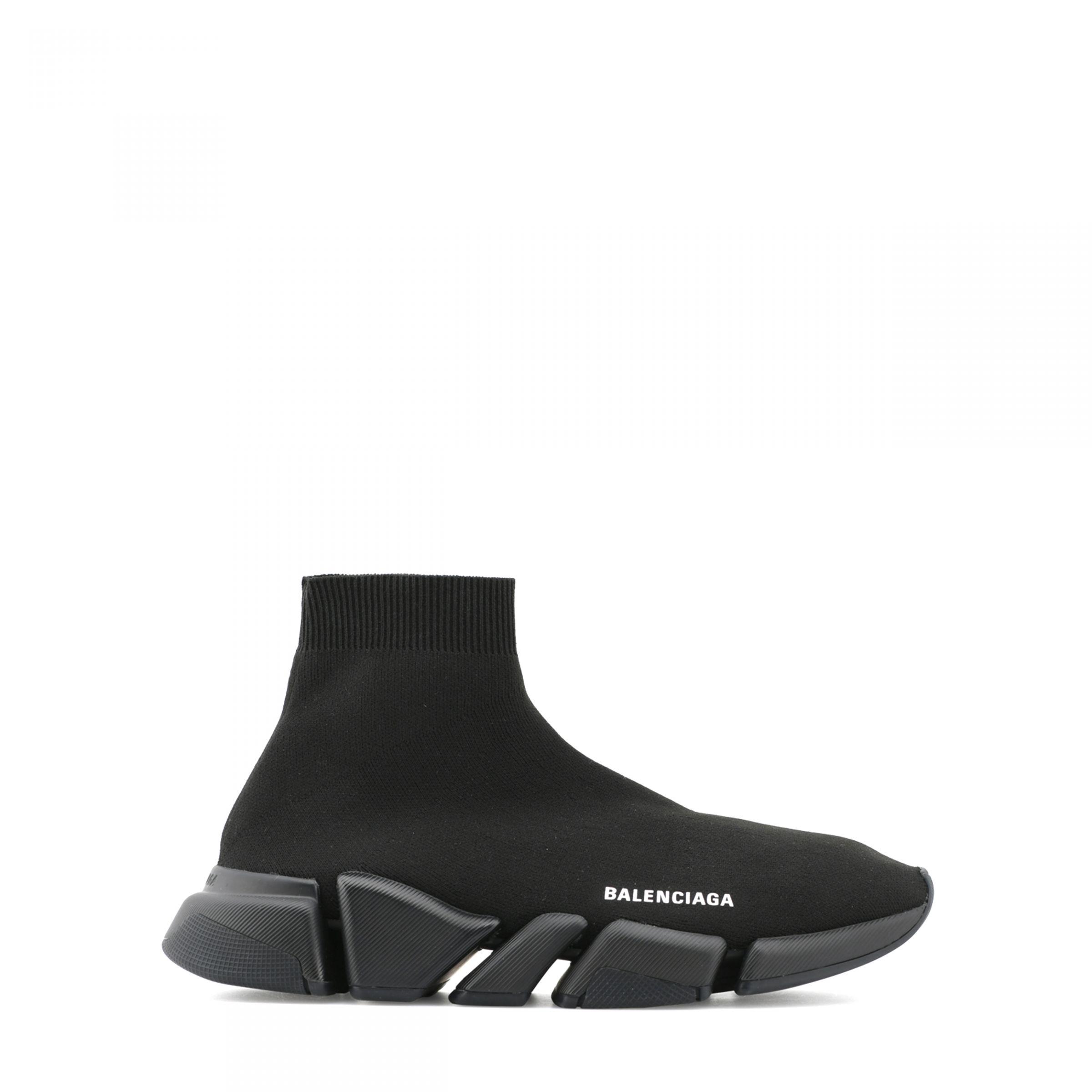 Сникеры Balenciaga Speed 2.0 черные