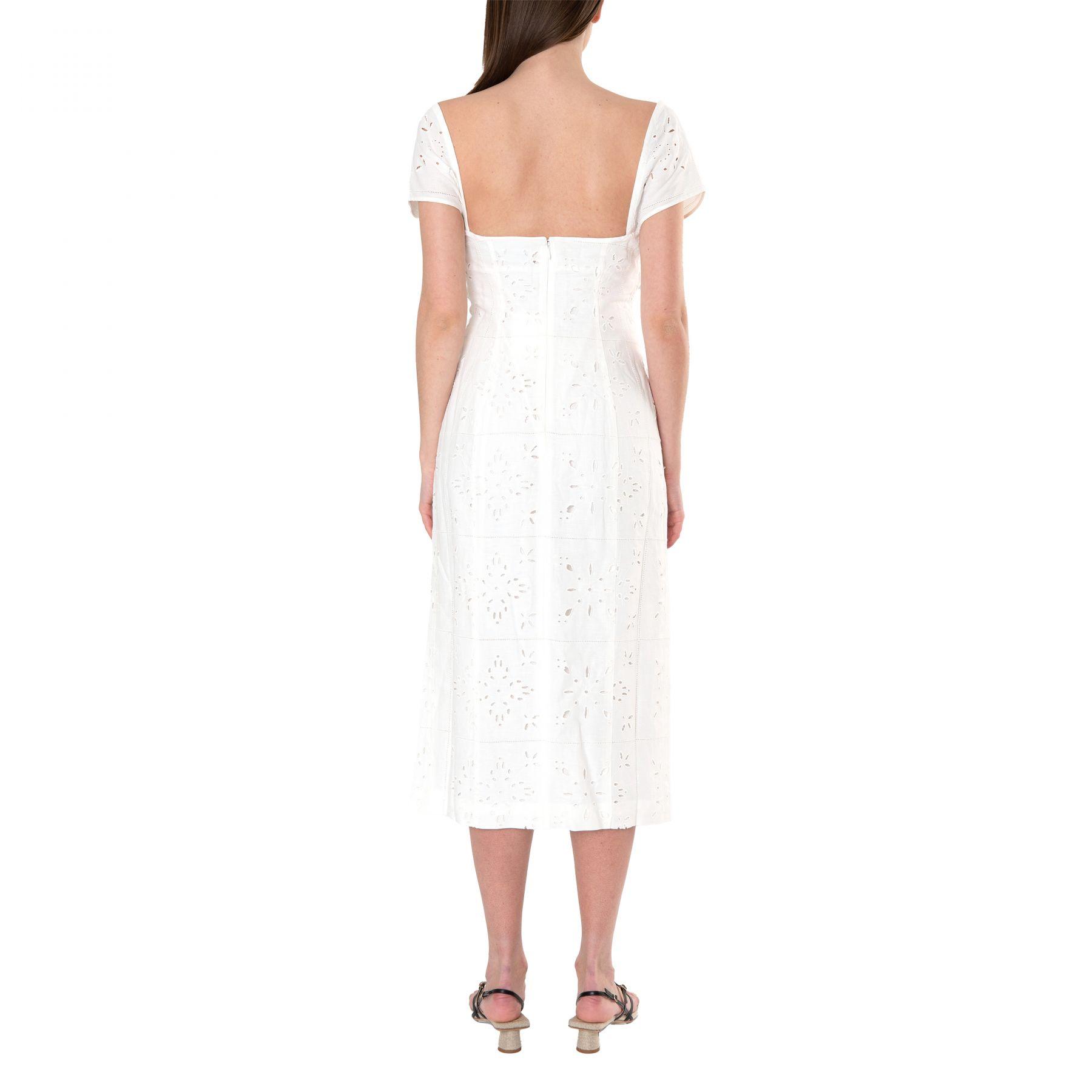 Сарафан Jacquemus La robe Tovallo белый