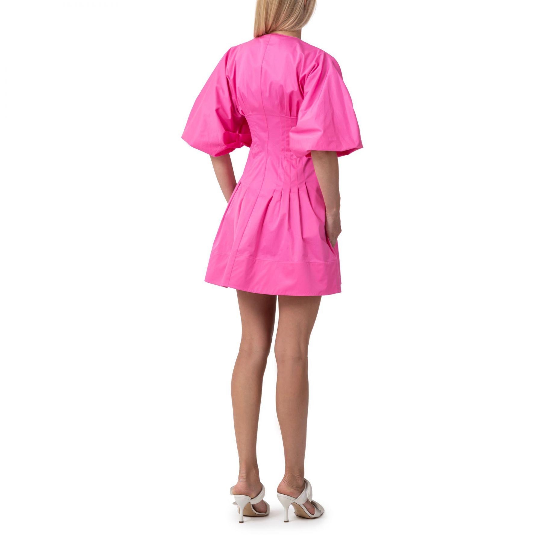 Платье Oscar de la Renta розовое