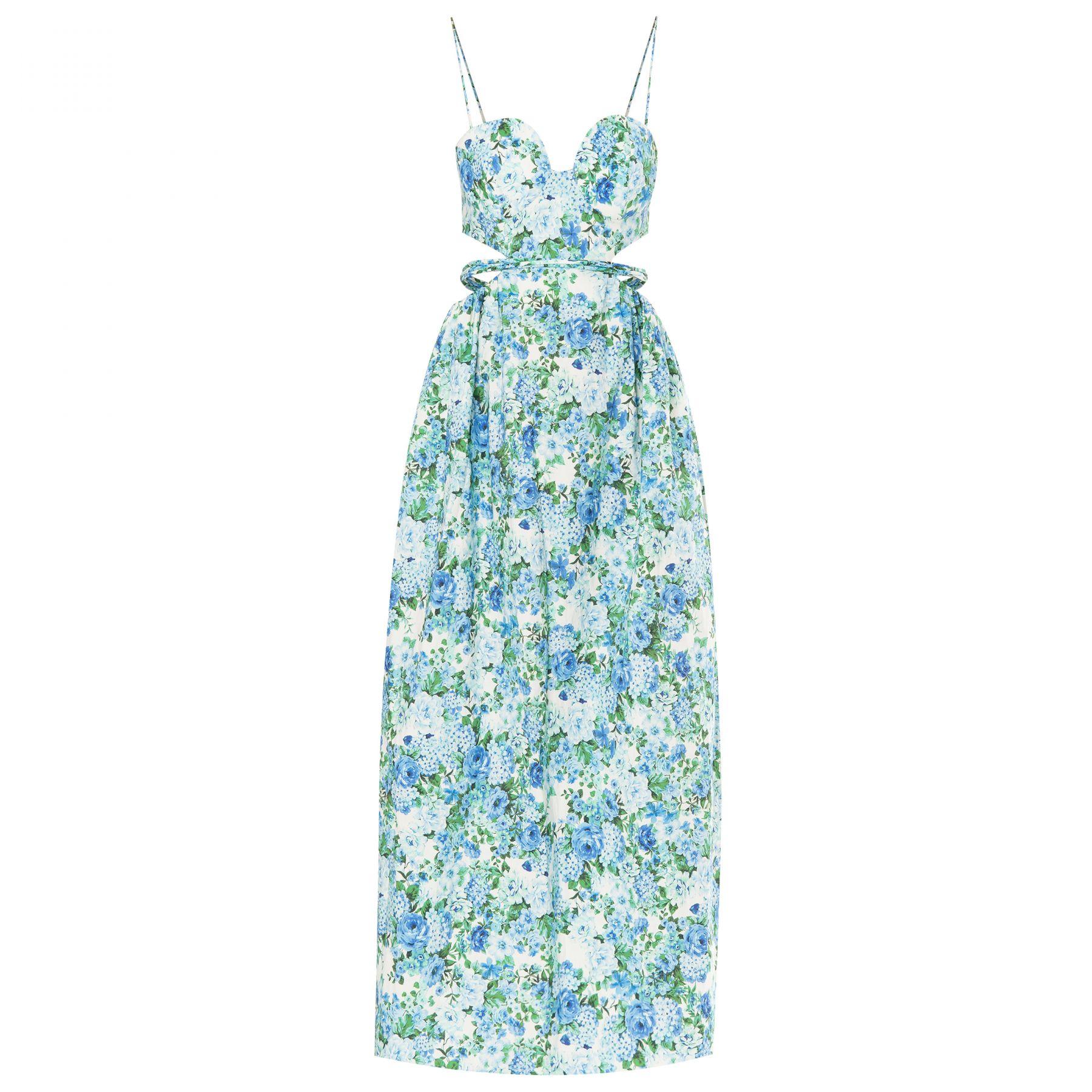 Платье Magda Butrym голубое