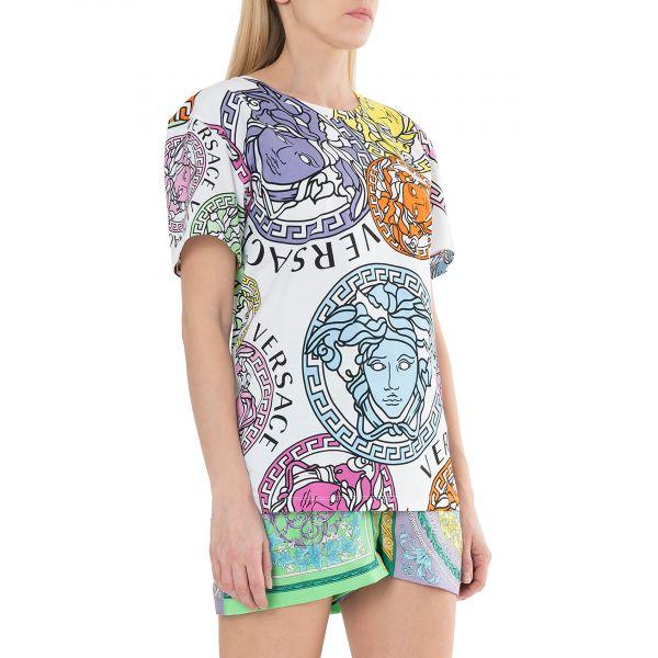 Футболка Versace MEDUSA AMPLIFIED разноцветная