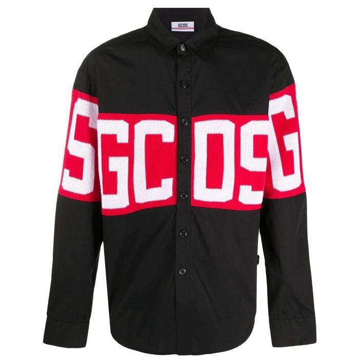 Рубашка с длинными рукавами GCDS черная