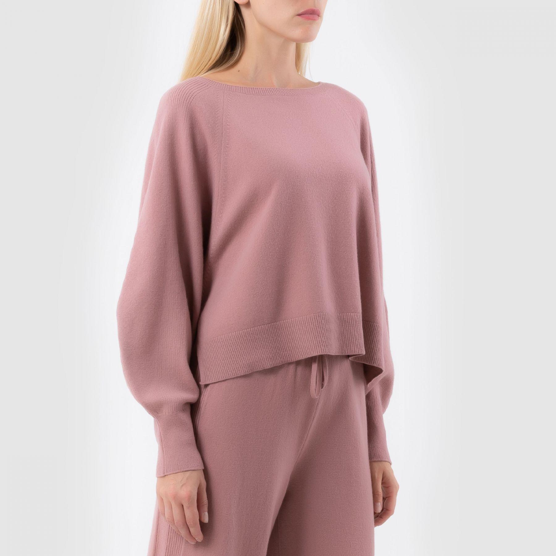 Джемпер Alberta Ferretti светло-розовый