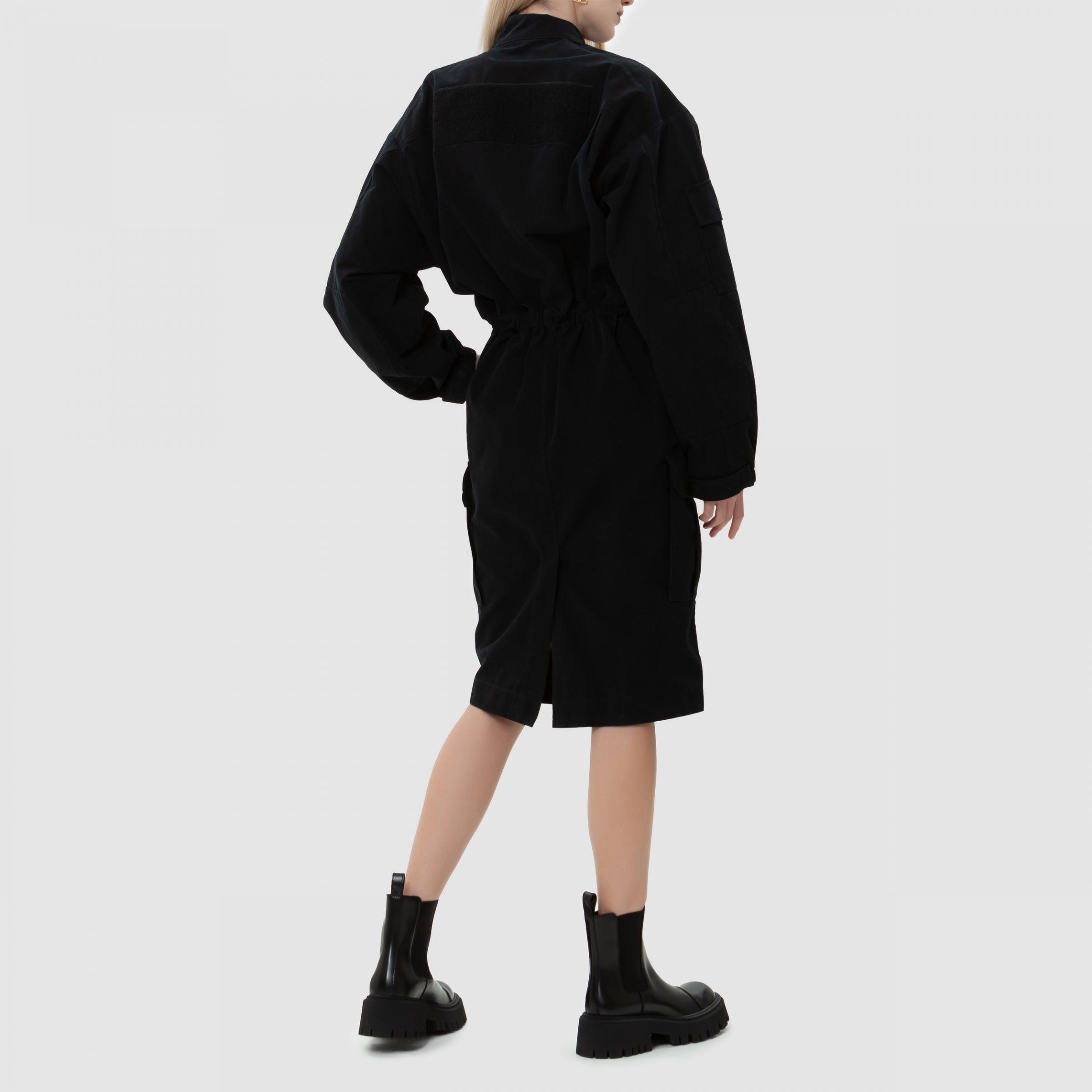 Платье Balenciaga CARGO черное