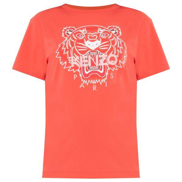 Футболка Kenzo оранжевая