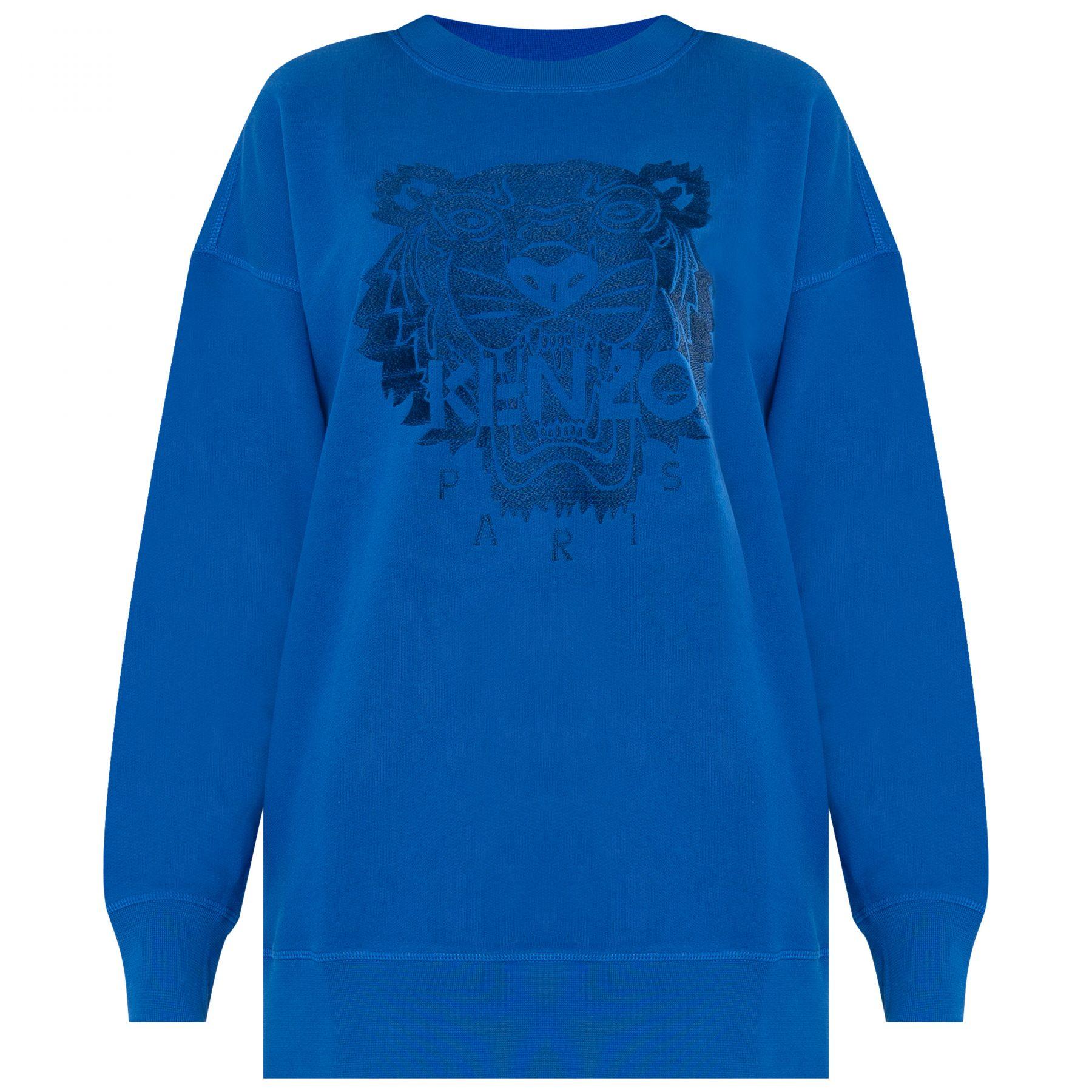 Свитшот Kenzo синий