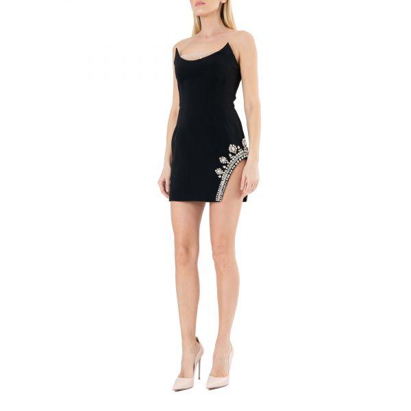 Платье David Koma черное