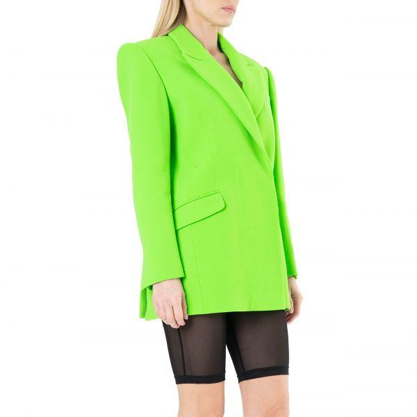 Пиджак David Koma зеленый