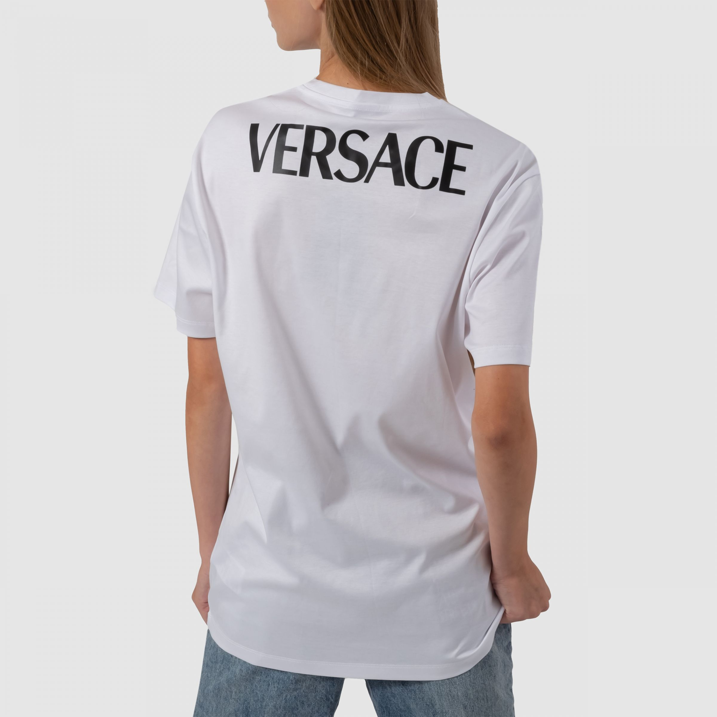 Футболка Versace Medusa Smiley белая