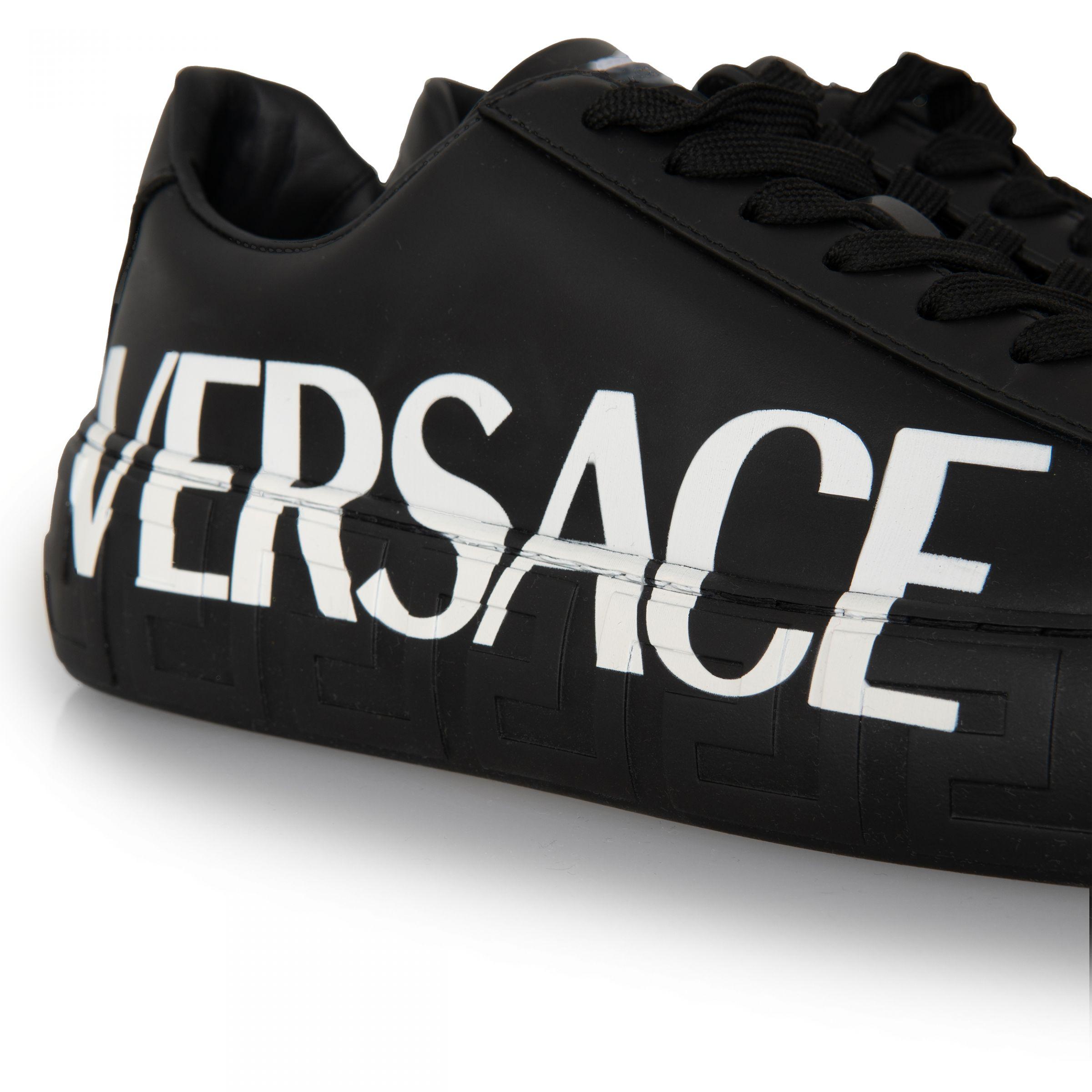 Кеды Versace черные