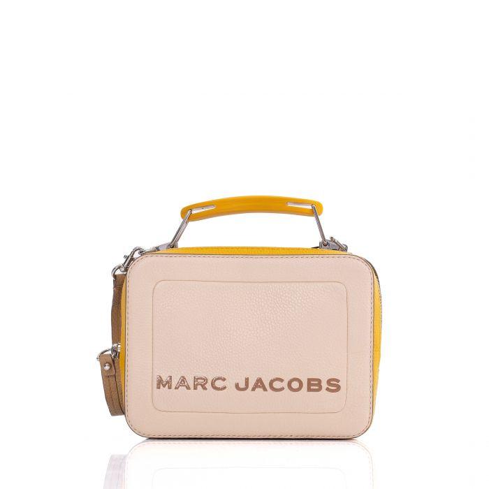 Сумка Marc Jacobs The Box 20 бежевая