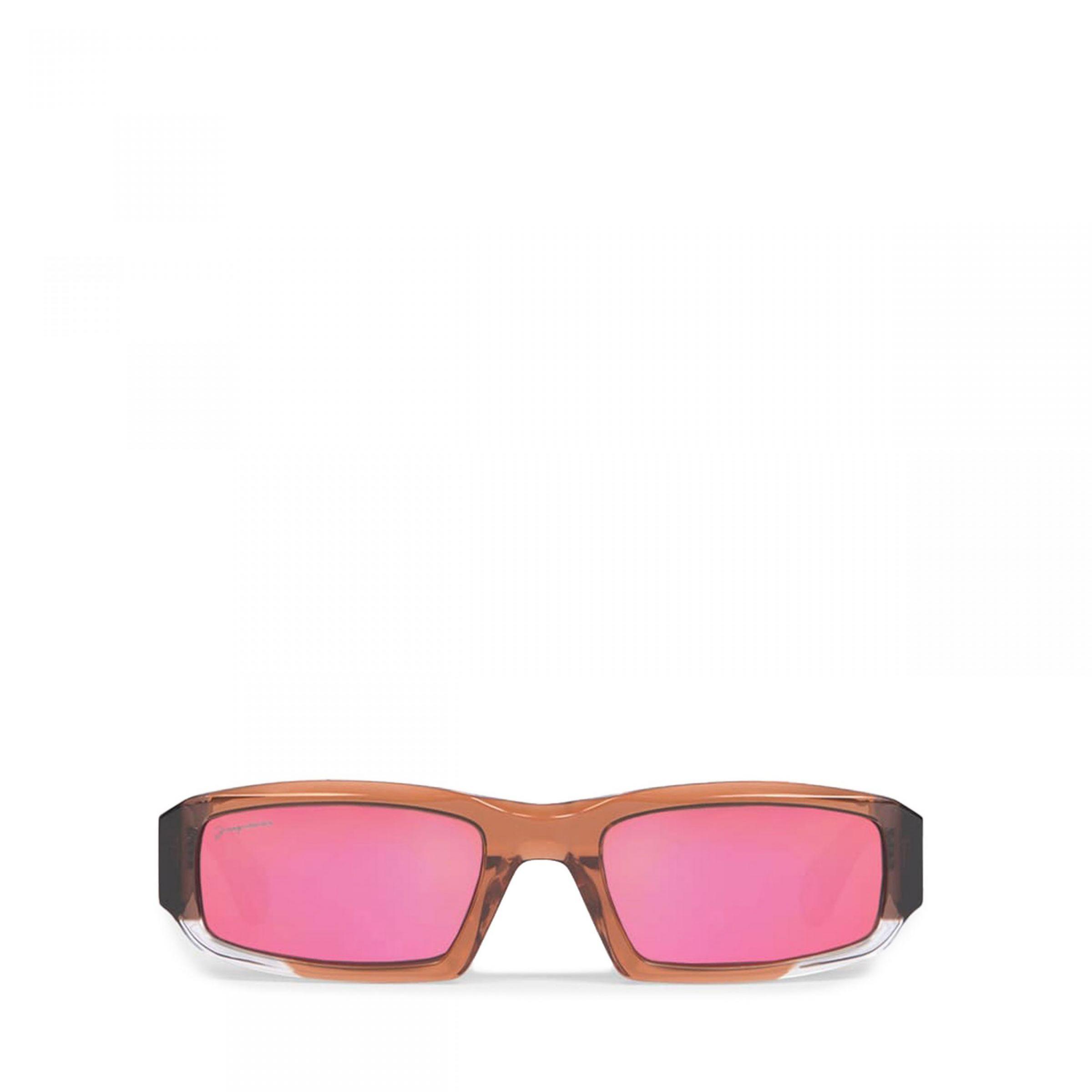 Очки Jacquemus Les lunettes Altù коричневые