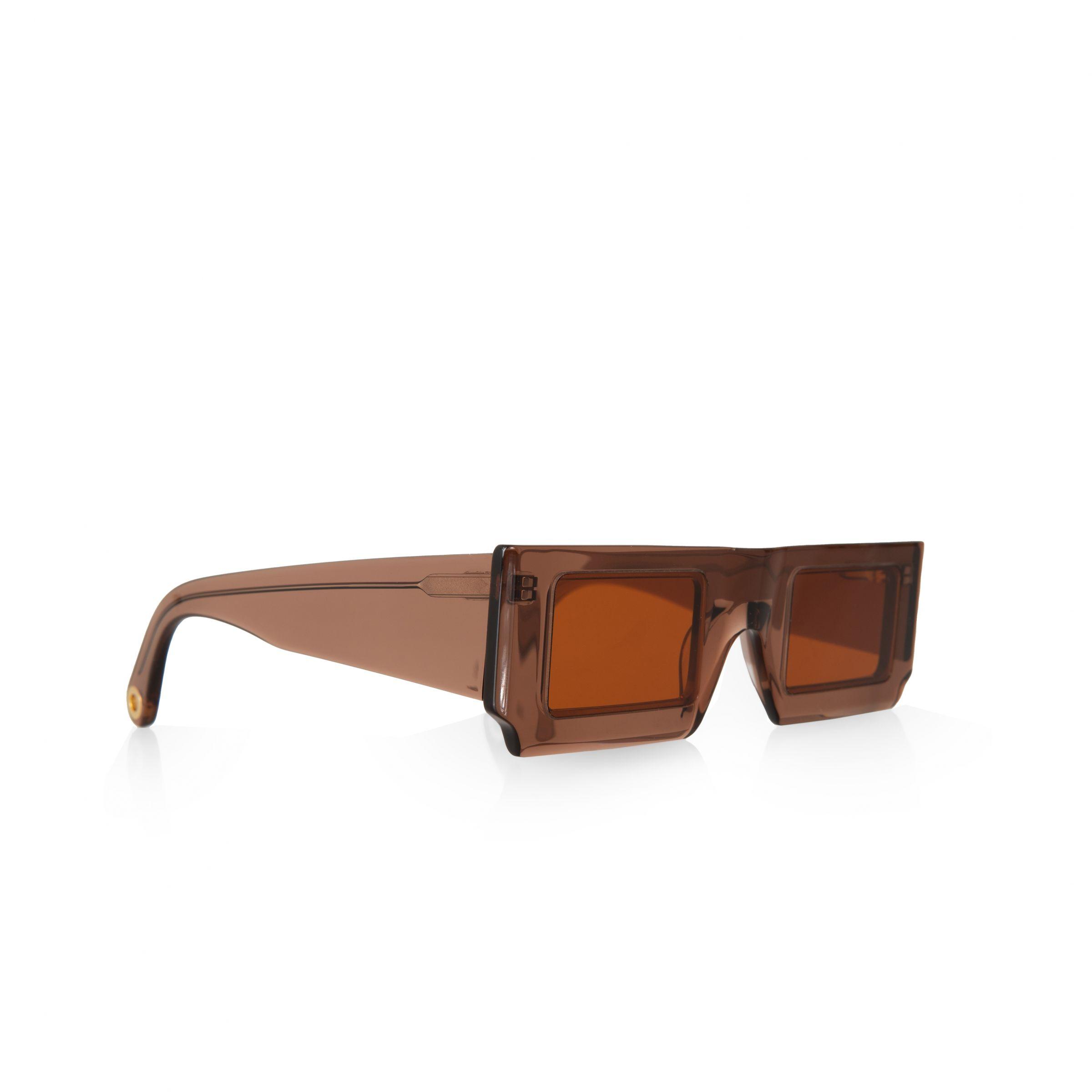 Очки Jacquemus Les lunettes Soleil коричневые