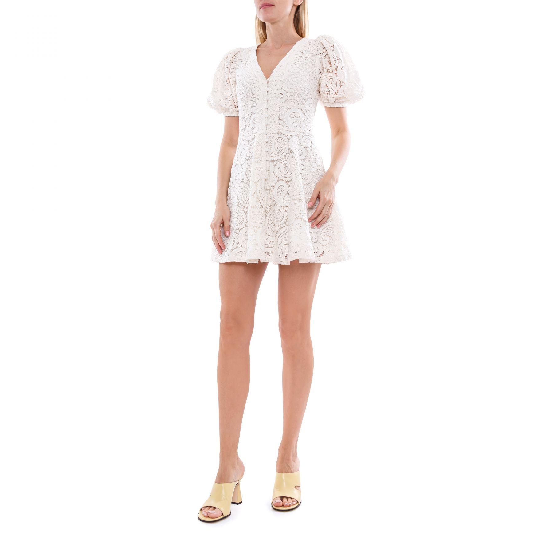 Платье Rotate Deanna белое