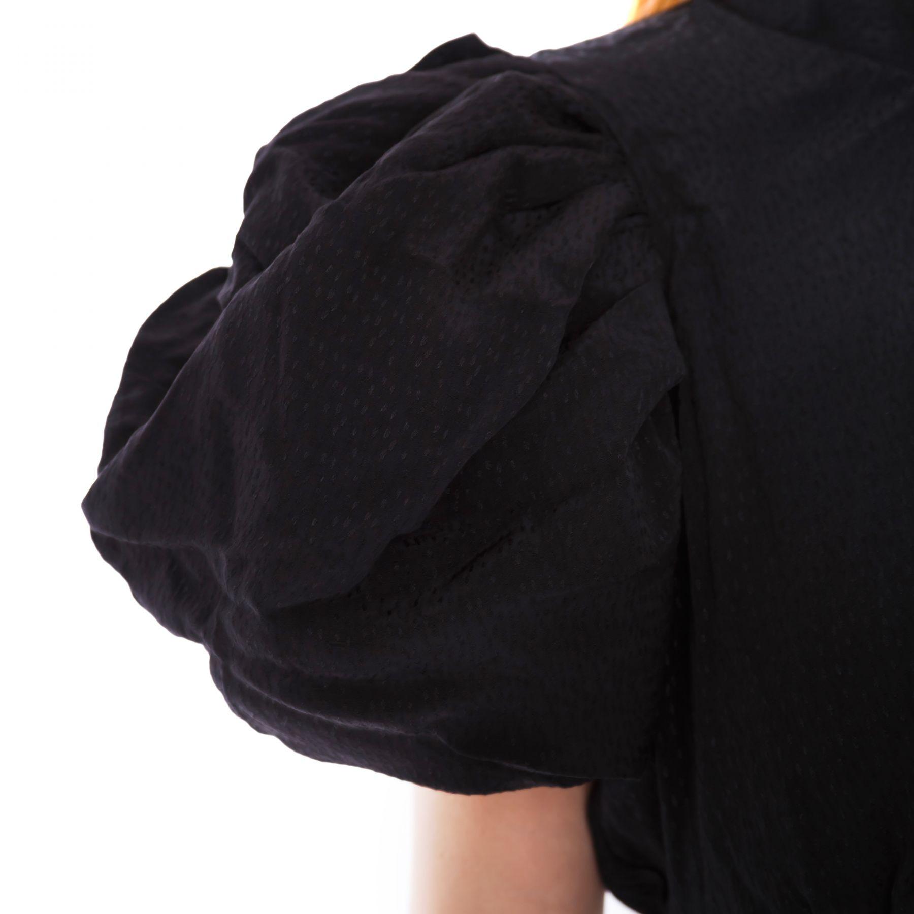 Платье Rotate черное