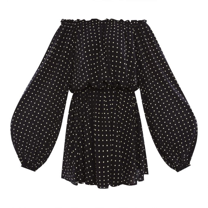 Платье Rotate Carly черное