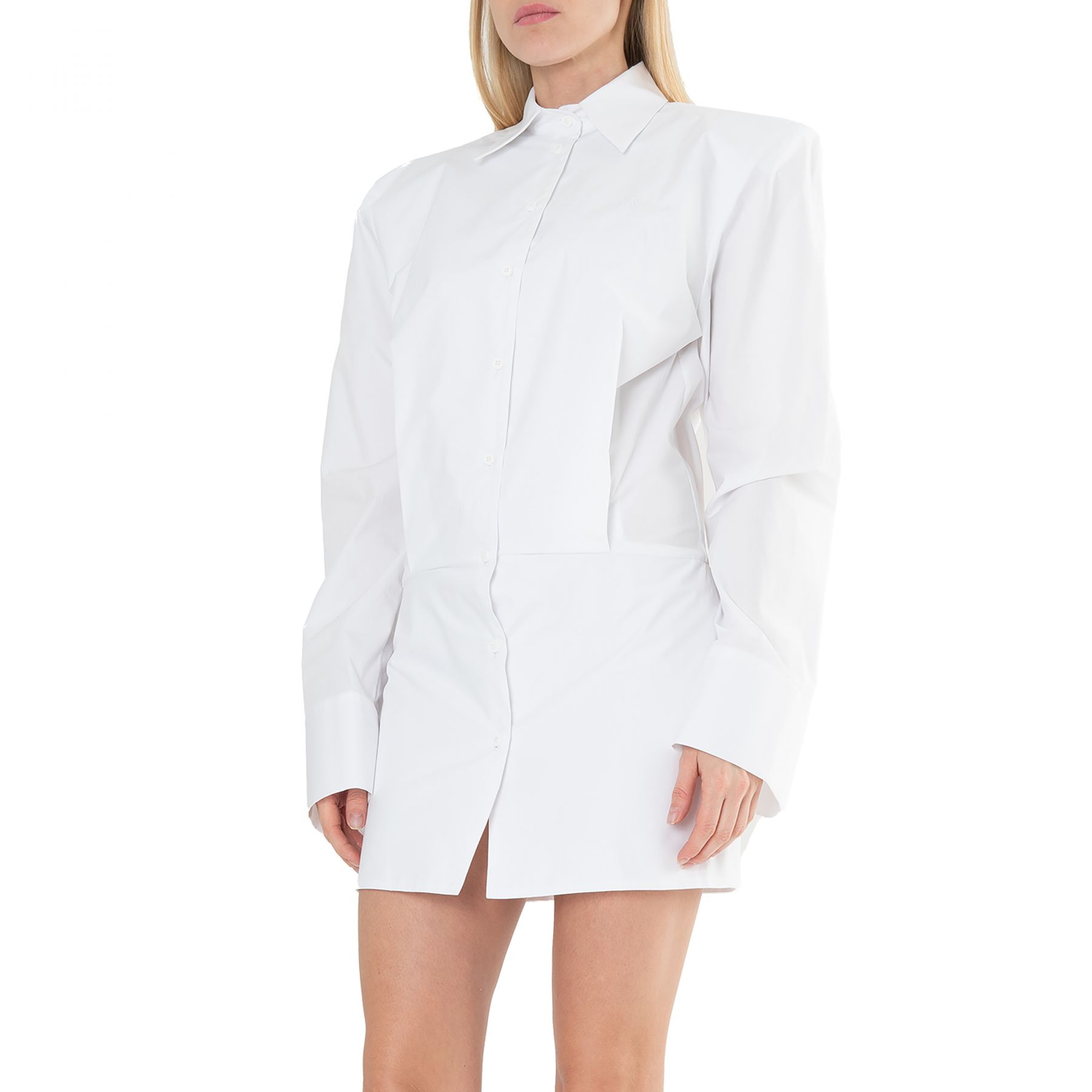 Платье The Attico MARGOT белое