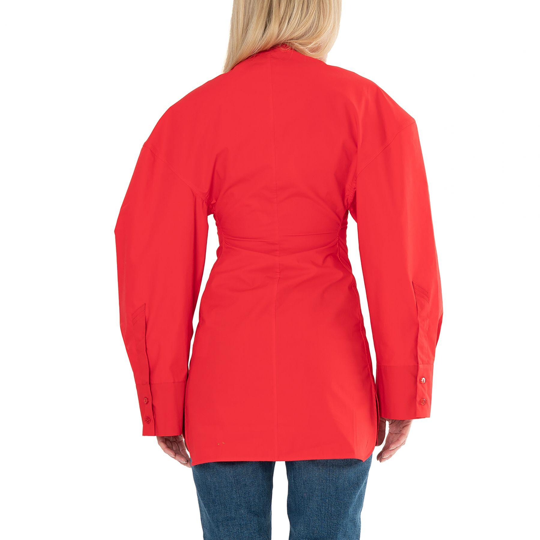 Платье The Attico LALA красное