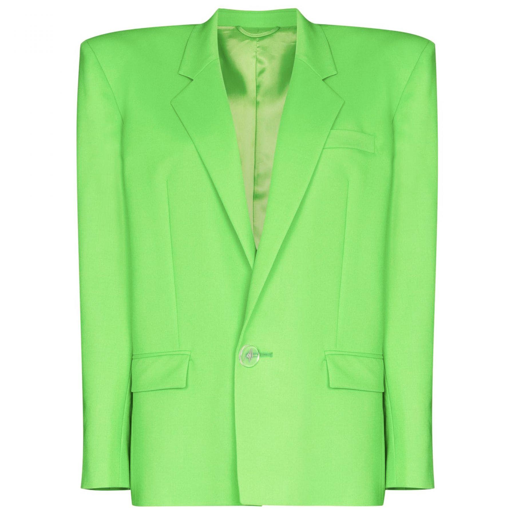 Пиджак The Attico зеленый