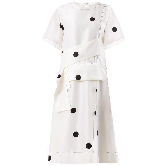 Платье 3.1 Phillip Lim молочное
