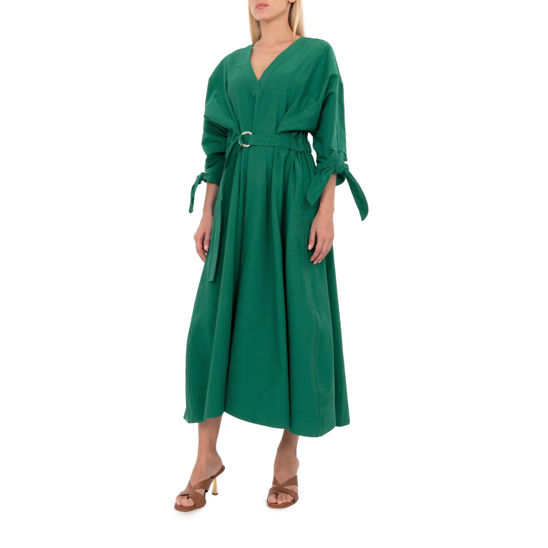 Платье 3.1 Phillip Lim зеленое