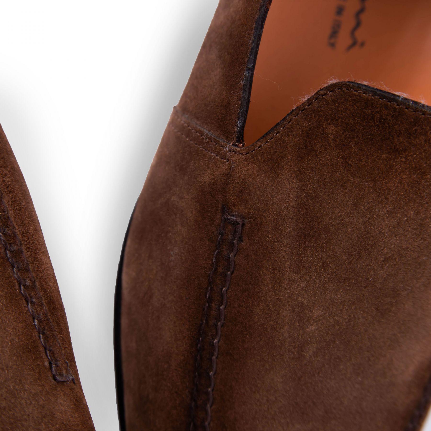 Лоферы Santoni коричневые