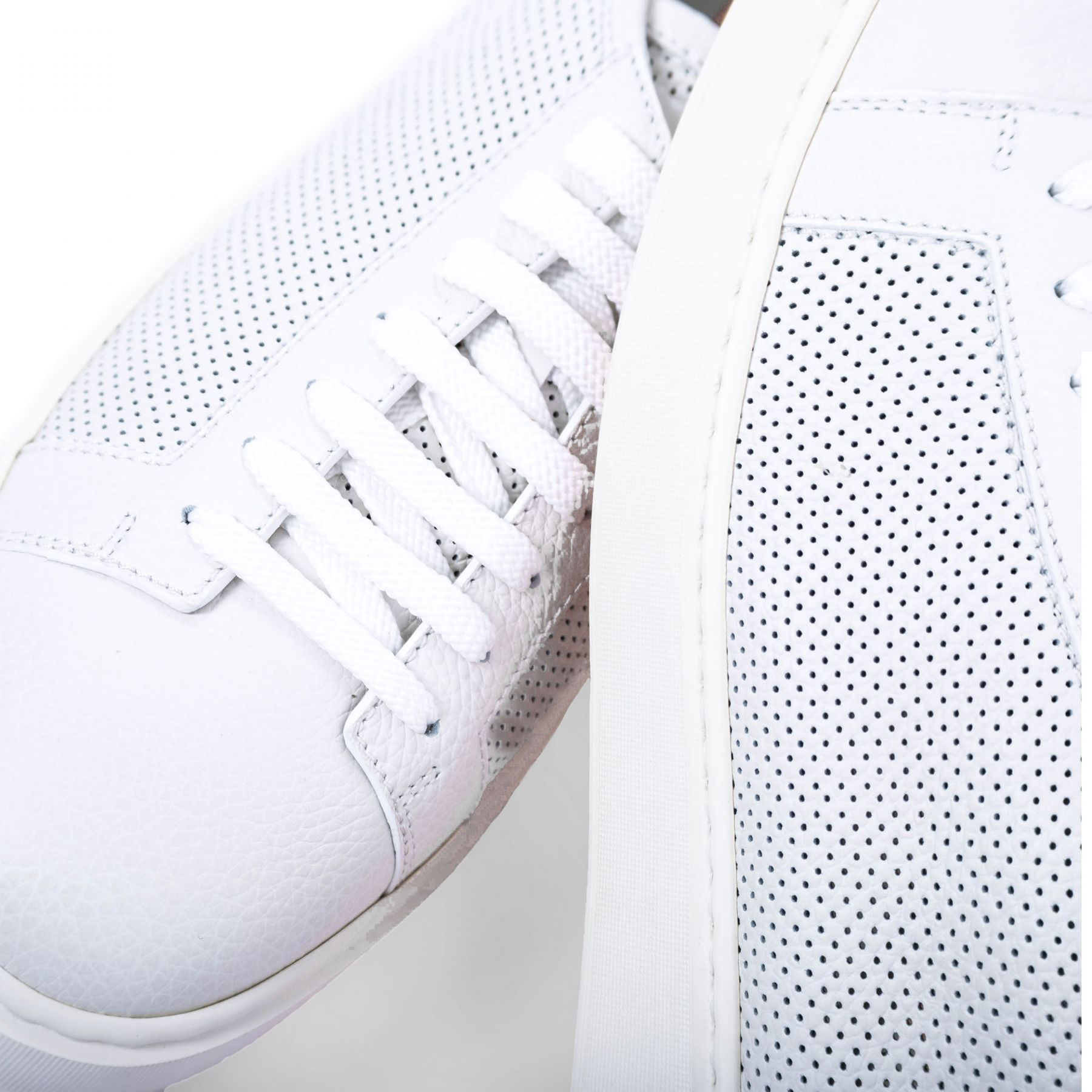Сникеры Santoni белые